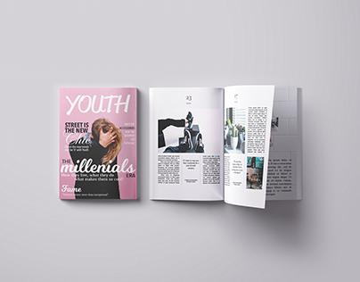 Youth Magazine Layout