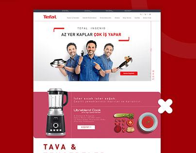 TEFAL e-Ticaret Sitesi