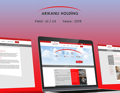 Arıkanlı Holding Company - Website Development