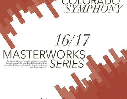 Colorado Symphony Poster Mailer