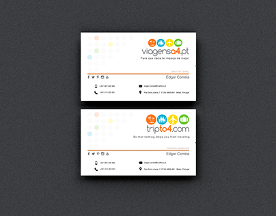 Business cards / viagensa4.pt