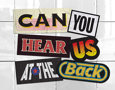 Can You Hear Us At The Back Music Video