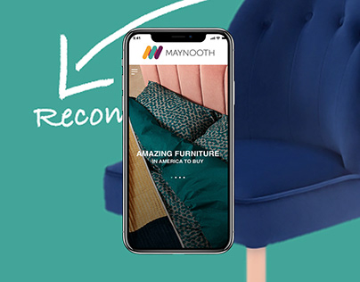 UX UI DESIGN FOR MAYNOOTH FURNITURE