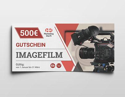 Print Production: Flyer, Voucher, Poster
