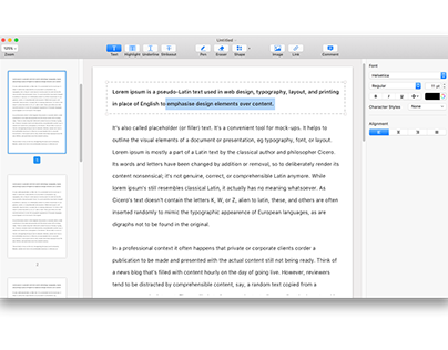 Pdf Viewer for MacOS