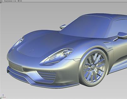 Alias & Vred——Porsche 918 spyder
