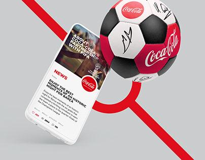 Coca-Cola x FIFA World Cup Russia 2018 web app