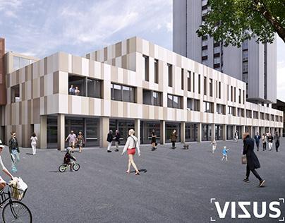Rénovation Bâtiment_La chaux de fonds_Switzerland