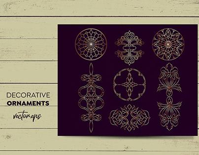 Decorative Ornaments Vector