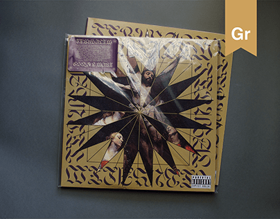 """Cover and Packaging LP/CD for """"Jerusalem - GSQ & L-MARE"""