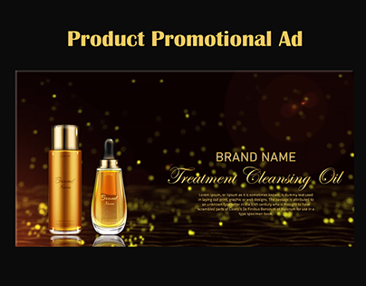 Product Promotional Ad