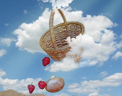 Levitation berries and mushrooms