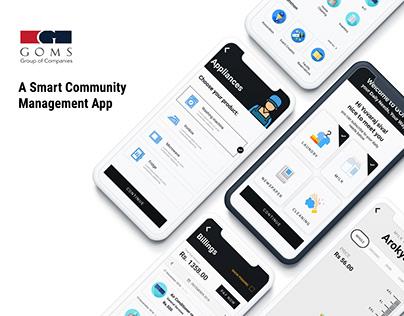 Smart Community Management App | UI/UX