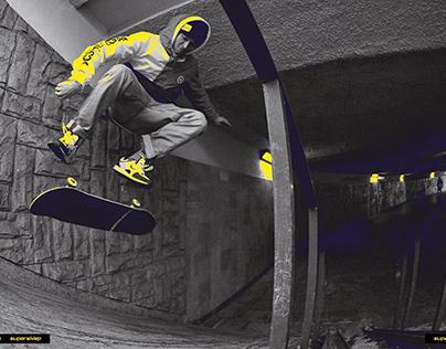 Supersklep - Retro skate Campaign