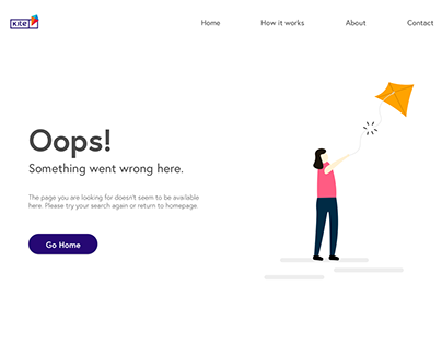 Daily UI 008_404 Page