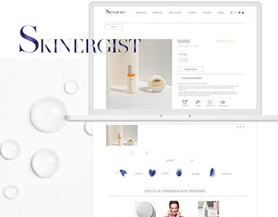 Skinergist - web design