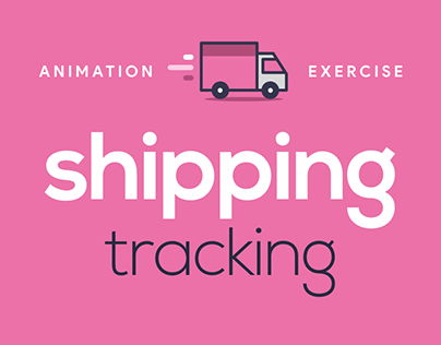Animation Exercise - Shipping Tracking Icons