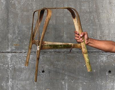triquetra | bamboo stool