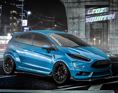 """Ford Fiesta ST 2016 tuning project """"crazy squirrel"""""""