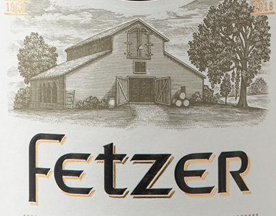 Fetzer Vineyards Label Illustrated by Steven Noble