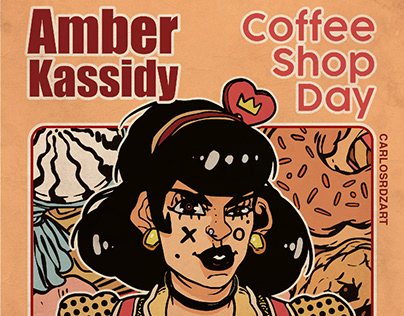 Amber Kassidy - Coffee Shop Day - Portada de álbum