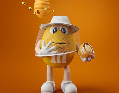 M&M's Crispy Honeycomb