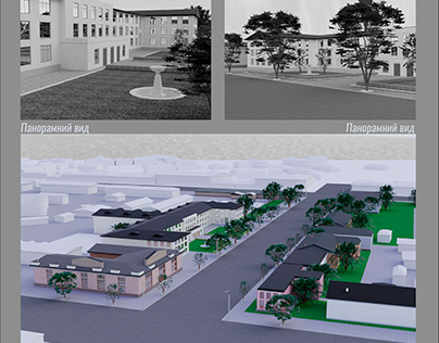 3D project: Cherkasy 1943