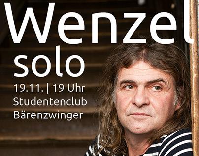 Wenzel Solo, Benefit Concert