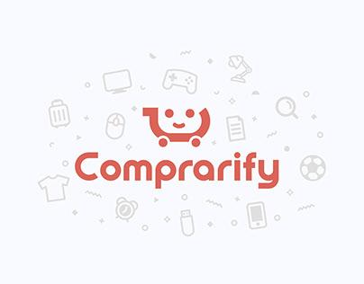 """""""Comprarify"""" shopping app"""
