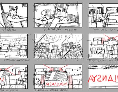 Ambulansya Storyboards