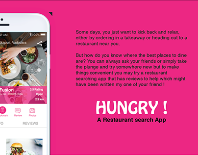 Hungry ! Restaurant search App