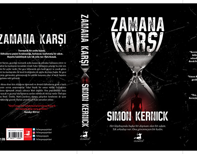 simon kernick book cover desing