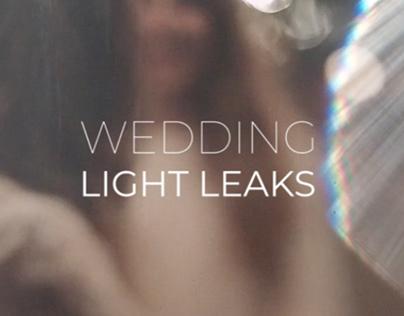 Wedding Light Leaks Pack