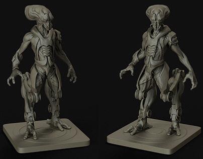 Alien - Concept Sculpt