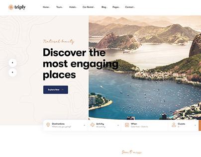 Triply Tour Booking WordPress Theme Pavothemes