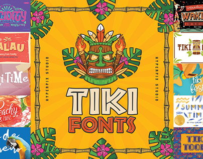 Best Tiki Fonts Collection