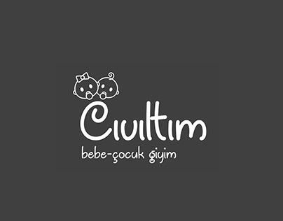 Cıvıltım Bebe Giyim Logo Çalışması