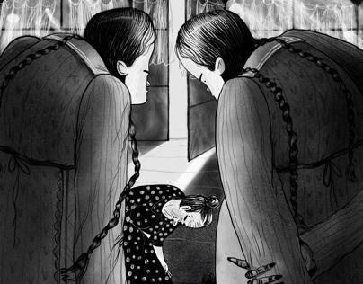 Mary Poppins illustrations
