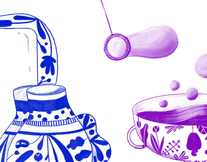  MemoriesVases  Illustrations