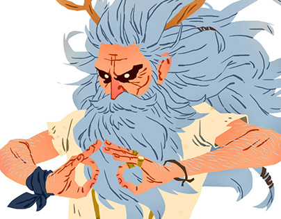 Yogi character design