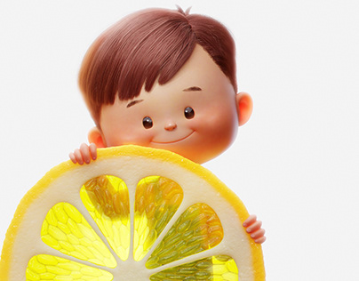 Lemon boy
