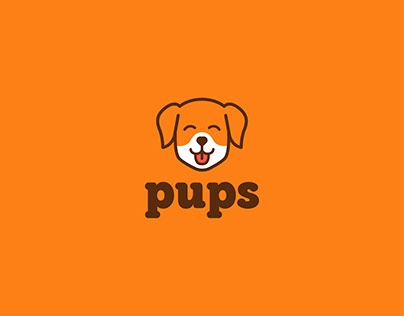 Pups - Logo and Brand Identity Design