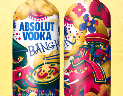 Absolut Vodka | Design bottle bags