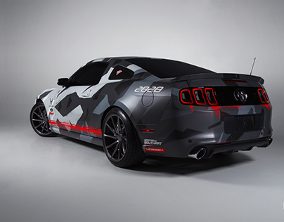 """Ford Mustang """"Air Fighter Camo"""""""