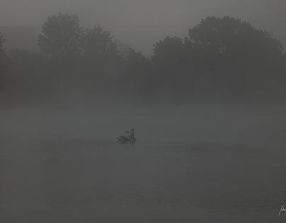 SIlver morning at SIlver Lake, Slovakia