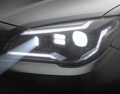 Headlight Design - ZKW V81