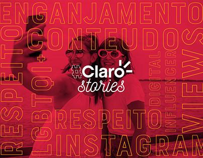 Projeto Claro Strories
