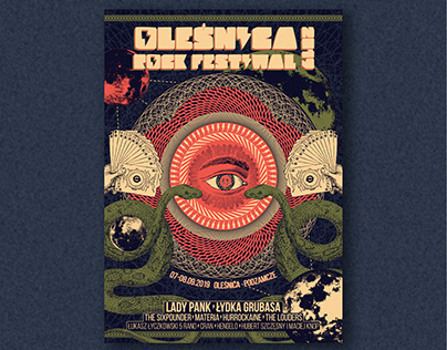 Oleśnica Rock Festiwal 2019 Poster