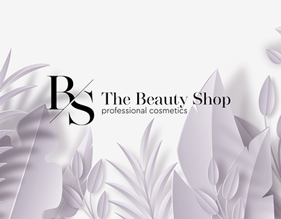 Design for Beauty shop - professional cosmetics