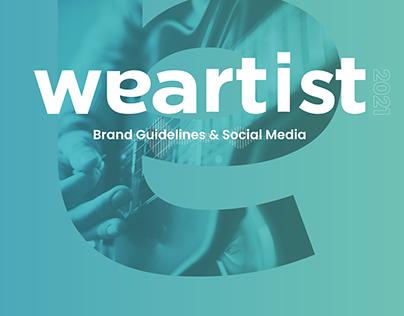Weartist Brand Guidelines & Social Media